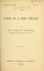 Cover of: The faith of a free church