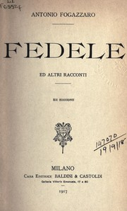 Cover of: Fedele
