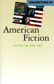 Cover of: Conjunctions: 34, American Fiction | Bradford Morrow