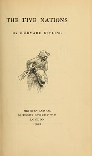 Cover of: The five nations | Rudyard Kipling
