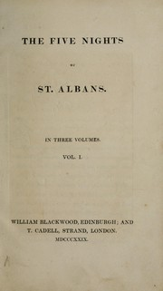 Cover of: The five nights of St. Albans