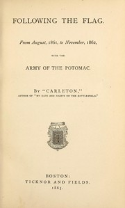 Cover of: Following the flag