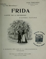 Cover of: Frida \