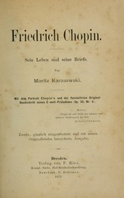 Cover of: Friedrich Chopin