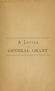 Cover of: General Grant and the Jews | Ph. von Bort