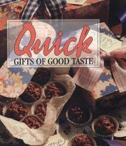 Cover of: Quick gifts of good taste. |