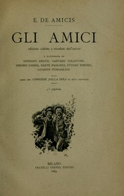 Cover of: Gli amici