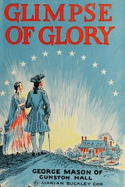 Cover of: Glimpse of glory | Marian Buckley Cox