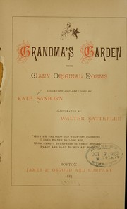 Cover of: Grandma's garden
