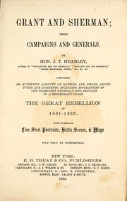 Cover of: Grant and Sherman