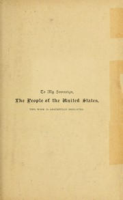 Cover of: The growth of democracy in the United States | Cleveland, Frederick Albert