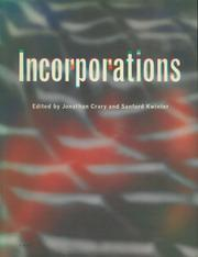 Cover of: Incorporations