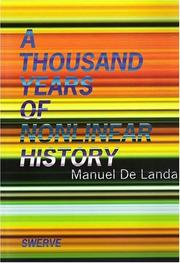 Cover of: A thousand years of nonlinear history