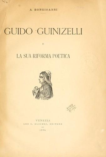 Guido Guinizelli bologna