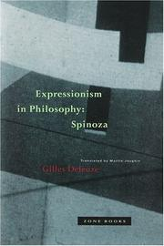 Cover of: Expressionism in philosophy