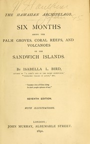 Cover of: The Hawaiian archipelago