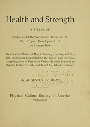 Cover of: Health and strength | Augustus Fremont