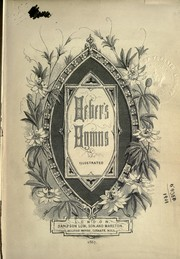 Cover of: Heber's hymns, illustrated