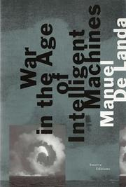 Cover of: War in the age of intelligent machines