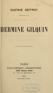 Cover of: Hermine Gilquin