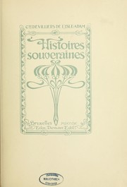 Cover of: Histoires souveraines