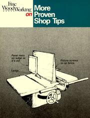 Cover of: More Proven Shop Tips (Fine Woodworking On)