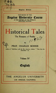 Cover of: Historical tales