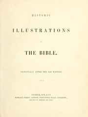 Cover of: Historic illustrations of the Bible |