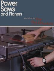 Cover of: Power saws and planers. |