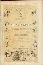 Cover of: The history of China & India