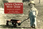 Cover of: When Chores Were Done