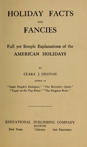 Cover of: Holiday facts and fancies