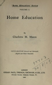 Cover of: Home education series | Mason, Charlotte M.