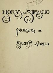 Cover of: Horas de silencio