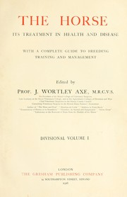 Cover of: The horse