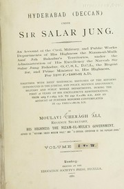 Cover of: Hyderabad (Deccan) under Sir Salar Jung | Ciragh