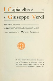 Cover of: I copialettere