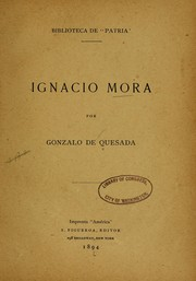 Cover of: Ignacio Mora