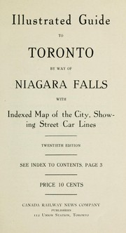 Cover of: Illustrated guide to Toronto by way of Niagara Falls by