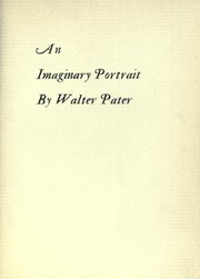 Cover of: An imaginary portrait