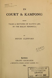 Cover of: In court & kampong | Clifford, Hugh Charles Sir