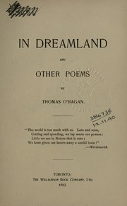 Cover of: In dreamland, and other poems | O