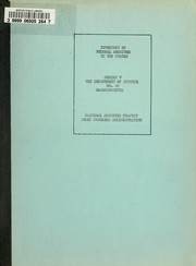 Cover of: Inventory of federal archives in the states | Survey of Federal Archives (U.S.)