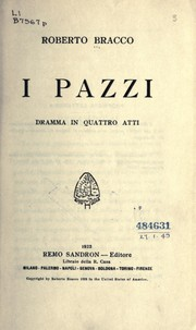 Cover of: I pazzi