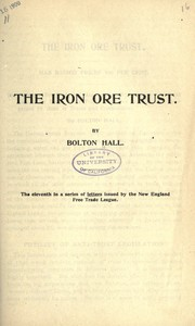 Cover of: The iron ore trust