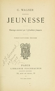 Cover of: Jeunesse