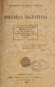 Cover of: Jornadas argentinas