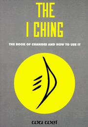 Cover of: The I ching | Wu wei.