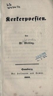 Cover of: Kerkerpoesien
