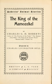 Cover of: The king of the Mamozekel